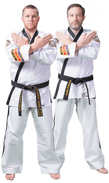 Cameron White and David Bell Action Martial Arts